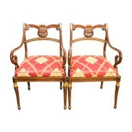 Vintage Regency Armchair