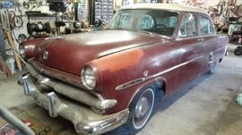 1953 Ford 54,900 miles! Clear Kansas Title