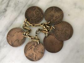Coin Bracelet.