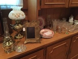 Antique Brass Lamps