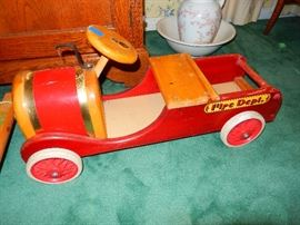 Vintage Riding Toy