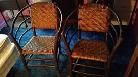hickory antique chairs