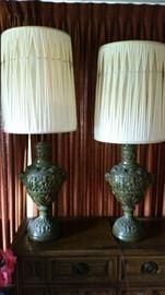 ornate lamps