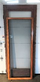 S Wood Storm/Screen Door   http://www.ctonlineauctions.com/detail.asp?id=715861