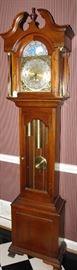 Seth Thomas tall clock - works