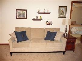 sofa / art /lamp tables