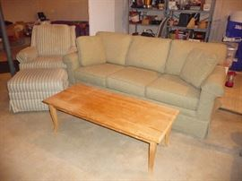 more sofas / chairs  / coffee table