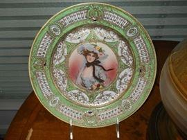 Nippon Portrait plate