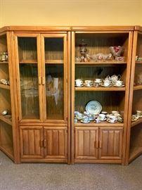 4 piece china cabinet / hutch