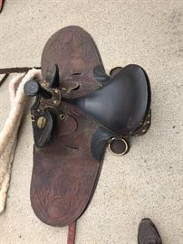 Saddle #2 in good condition