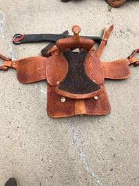 "16"" leather saddle in very good condition."