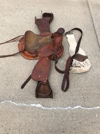 Child's saddle in good condition