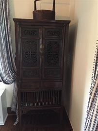 Asian bookcase / storage cabinet - 2 available
