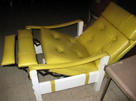 37 collins yellow chair
