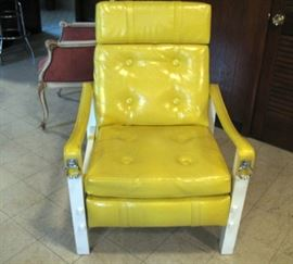 37 collings yellow chair