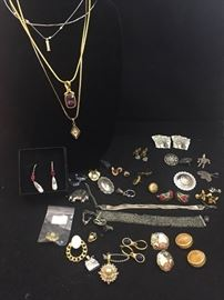 56 large collection of costume jewelry