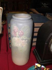 """11"""" Weller Hudson art pottery vase (as found)"""