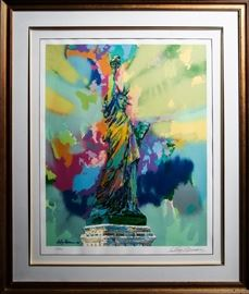 Signed Leroy Neiman Lithograph