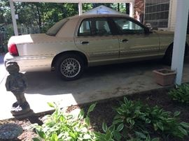 1999 Mercury Grand Marquis approx. 63,000 original miles