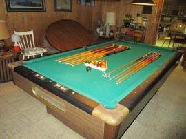 1pool table