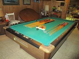 1pool table