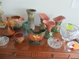4Roseville pottery