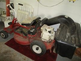 5riding mower