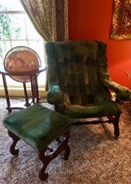 Vintage Sling Back Chair