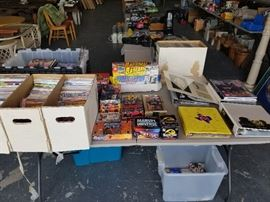 So much great comics box sets, trading cards, dont miss out