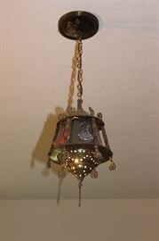 Vintage Moroccan light fixture