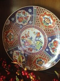 Brilliant colors - Asian style plate