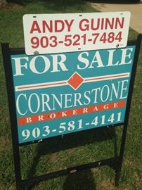 The  home is offered by Andy Guinn of Cornerstone Brokerage in Tyler.