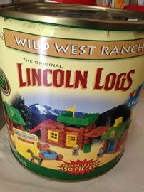 Wild West Ranch Lincoln Logs