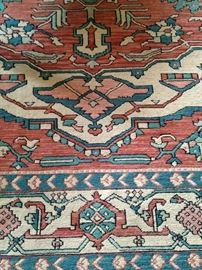 7 feet 10 inches x 10 feet rug