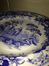 "Spode Blue Room plate ""Girl at the Well"""