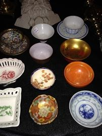 Salts and miscellaneous small bowls