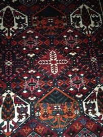 5 feet 5 inches x 8 feet Persian Hamadan rug