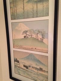 Japanese water color - circa 1920's