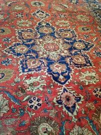 Wonderful Persian Tabriz 9 feet 4 inches x 13 feet rug