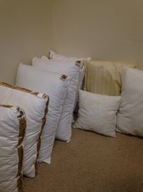 More pillows