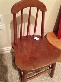 Antique child's chair