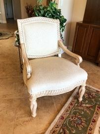 Regency occasional chair, clean and gorgeous
