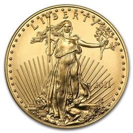 $50 Gold Coin