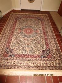 Tabriz Area Rug - The One For Sale is 5' x 8'