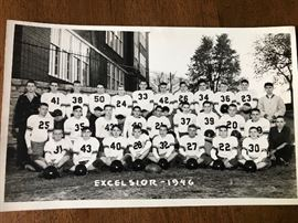 Excelsior  Football Team Picture 1946
