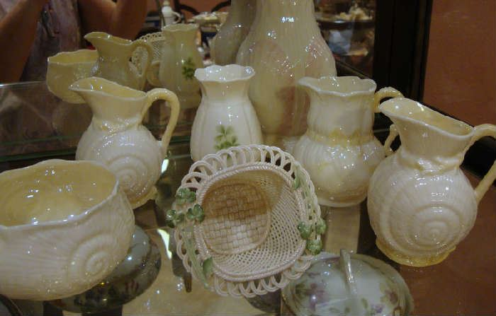 Collection of Belleek Porcelain from Ireland