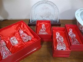 Waterford Crystal Nativity Set in Orig. Boxes