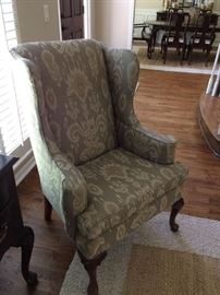 Vintage Ethan Allen Wingback Chairs