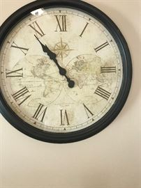 Old World large wall clock