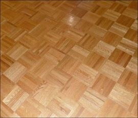 Acres of Parquet Flooring